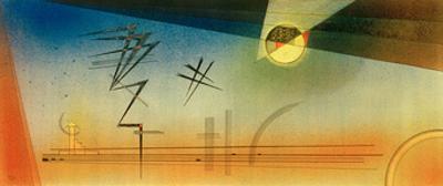 Upwards Zigzag, 1928 by Wassily Kandinsky