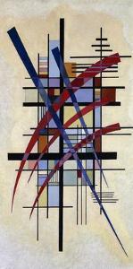 Zeichen mit Begleitung by Wassily Kandinsky