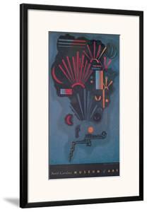 Zunehmen by Wassily Kandinsky