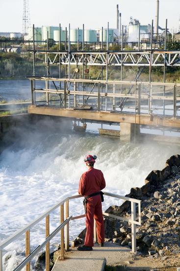Waste Water Monitoring-Paul Rapson-Photographic Print