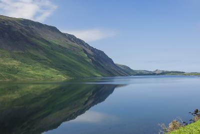 Wastwater and the Screes, Early Morning, Wasdale, Lake District National Park, Cumbria-James Emmerson-Photographic Print