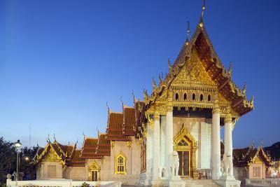 Wat Benchamabophit (The Marble Temple), Bangkok, Thailand, Southeast Asia, Asia-Christian Kober-Photographic Print