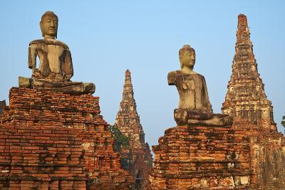 Wat Chai Wattanaram, Ayutthaya Historical Park, Ayutthaya, Thailand, Southeast Asia, Asia--Photographic Print