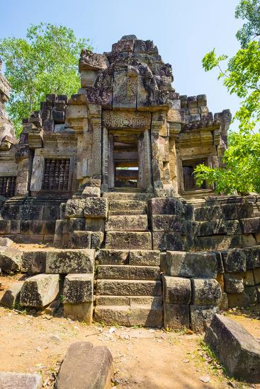 Wat Ek Phnom Temple Ruins, Battambang Province, Cambodia, Indochina, Southeast Asia, Asia-Jason Langley-Photographic Print