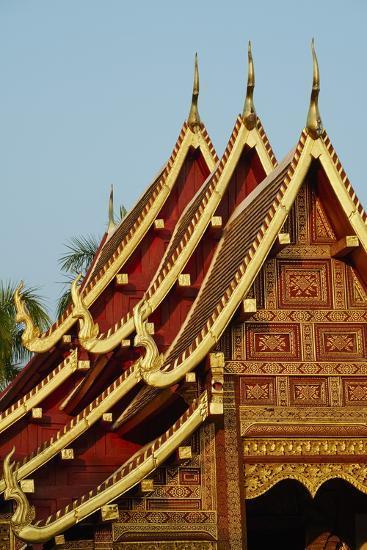 Wat Phra Singh, Chiang Mai, Thailand, Southeast Asia, Asia--Photographic Print