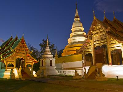 Wat Phra Singh Temple, Chiang Mai, Chiang Mai Province, Thailand, Southeast Asia, Asia-Ben Pipe-Photographic Print