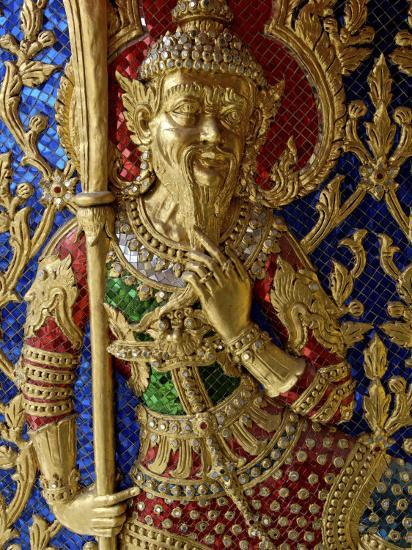 Wat Ratchabophit, Bangkok, Thailand, Southeast Asia-De Mann Jean-Pierre-Photographic Print