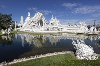 Wat Rong Khun (White Temple), Chiang Rai, Northern Thailand, Thailand, Southeast Asia, Asia-Stuart Black-Photographic Print