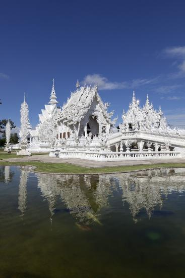 Wat Rong Khun (White Temple), Chiang Rai, Northern Thailand, Thailand, Southeast Asia, Asia-Stuart Black-Photographic Print