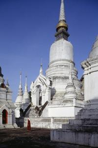 Wat Suan Dok, Royal Tombs, Chiang Mai, Thailand, 14th Century