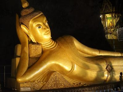 Wat Tham Suwan Khuha in the Buddha Cave in Phang Nga-Terry Eggers-Photographic Print