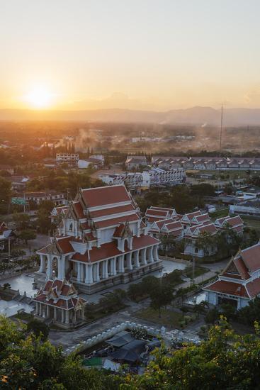 Wat Thammikaram Worawihan Temple, Prachuap Kiri Khan, Thailand, Southeast Asia, Asia-Christian Kober-Photographic Print