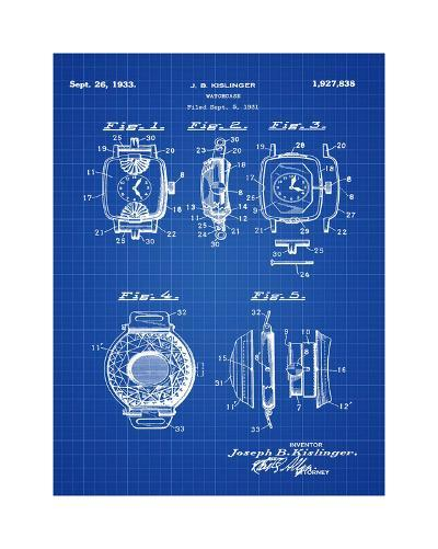 Watch Case, 1931-Bill Cannon-Giclee Print
