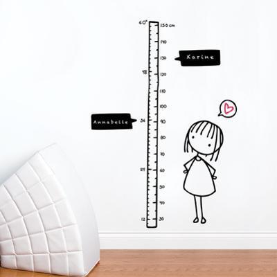 Watch Me Grow! (girl) Wall Decal