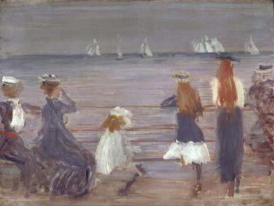 Watching Cowes Regatta, 1892-Philip Wilson Steer-Giclee Print