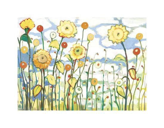 Watching the Clouds Go By-Jennifer Lommers-Giclee Print