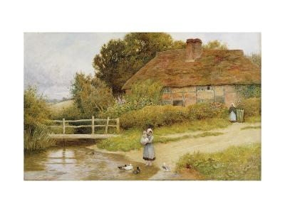 Watching the Ducks-Arthur Claude Strachan-Giclee Print