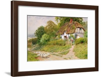 Watching the Sheep-Arthur Claude Strachan-Framed Giclee Print