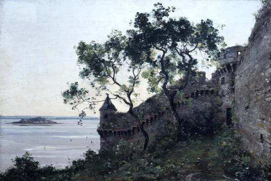 Watchtower, 1880-Emmanuel Lansyer-Giclee Print