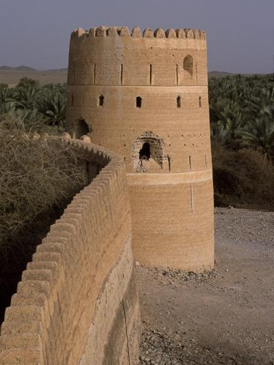 Watchtower of the Old Fort in the Village of Afi Sefalah-John Warburton-lee-Photographic Print