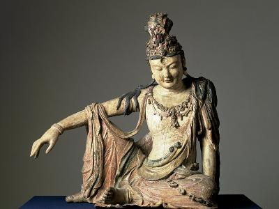 Water-And-Moon (Shuiyue) Guanyin, Xixia or Jin Dynasty, 12th or Early 13th Century--Giclee Print