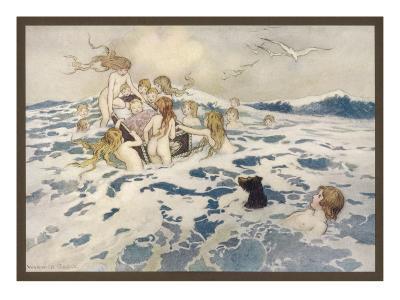 Water Babies--Giclee Print