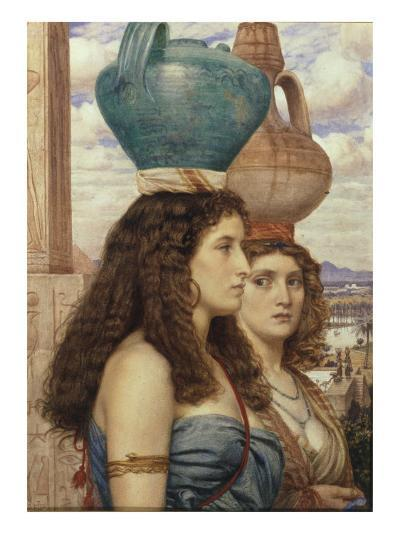 Water Carriers of the Nile, 1862-Edward John Poynter-Giclee Print