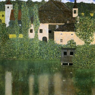 Water Castle, 1908-Gustav Klimt-Giclee Print
