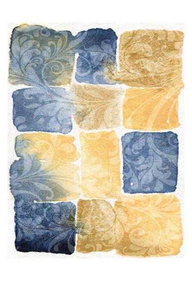 Water Color Blocks-Kristin Emery-Art Print