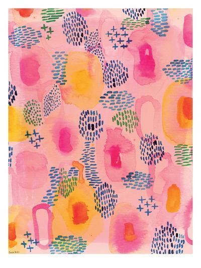 Water Colour Patterns-Paula Mills-Art Print