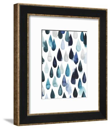 Water Drops II-Grace Popp-Framed Art Print