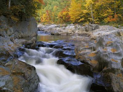 Water Flows over Rocks in the Swift River-Jeff Foott-Photographic Print