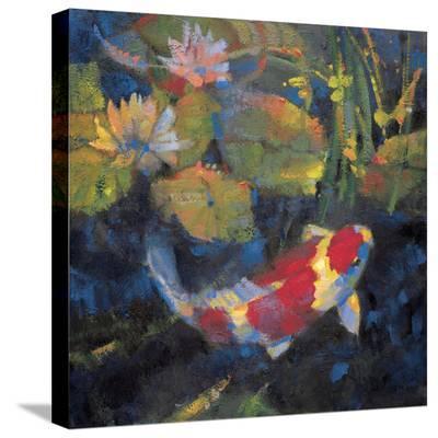 Water Garden I-Leif Ostlund-Stretched Canvas Print