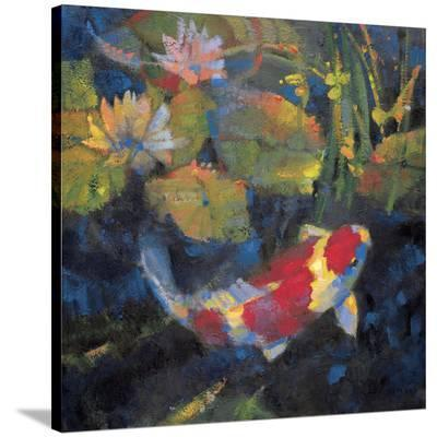 Water Garden I-Leif Ostlund-Stretched Canvas Print