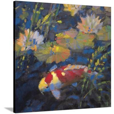Water Garden II-Leif Ostlund-Stretched Canvas Print