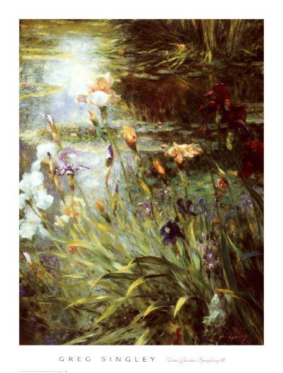 Water Garden Symphony II-Greg Singley-Art Print