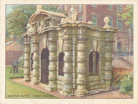 'Water-Gate, York House', 1929-Unknown-Giclee Print