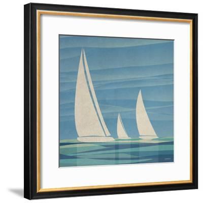 Water Journey I-Dan Meneely-Framed Premium Giclee Print