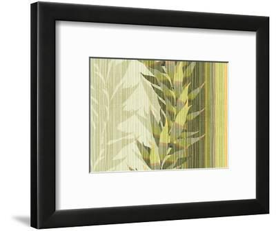 Water Leaves I-Mali Nave-Framed Giclee Print