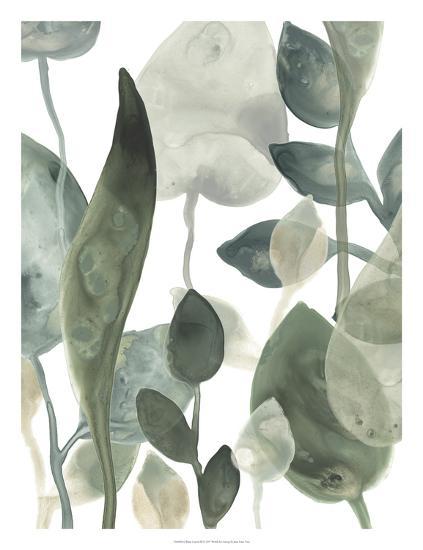Water Leaves III-June Erica Vess-Art Print