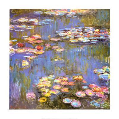 Water Lilies, 1916-Claude Monet-Art Print