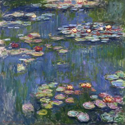 Water Lilies, 1916-Claude Monet-Giclee Print