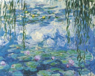 Water Lilies 4-Claude Monet-Art Print