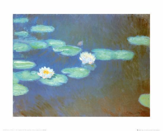 Water Lilies, c.1898-Claude Monet-Art Print