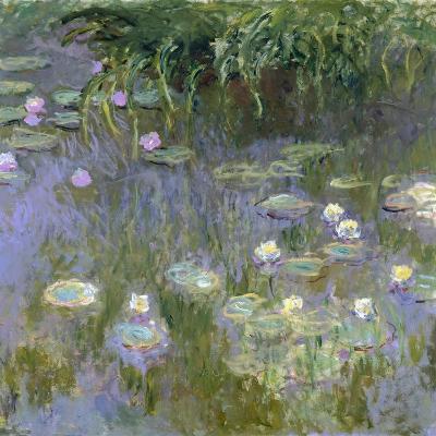 Water Lilies, C1915-Claude Monet-Giclee Print