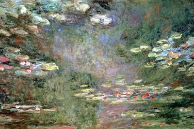 Water Lilies, C1925-Claude Monet-Giclee Print
