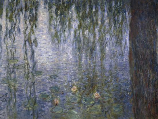 Water Lilies, Detail, 1840-1929-Claude Monet-Giclee Print