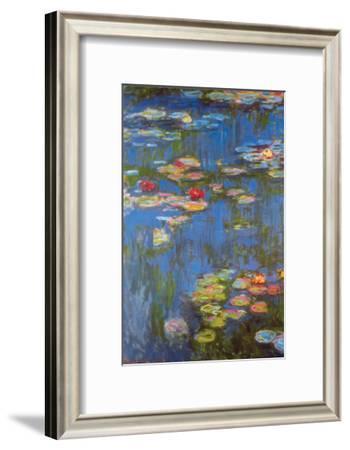 Water Lilies No. 3-Claude Monet-Framed Art Print