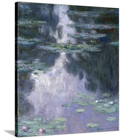 Water Lilies (Nympheas), 1907-Claude Monet-Stretched Canvas Print