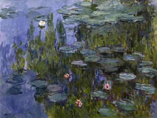 Water Lilies (Nympheas), 1918/1921-Claude Monet-Giclee Print